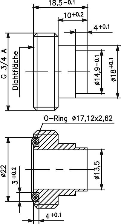 WS | Strömungswächter JSW mit Gerätestecker