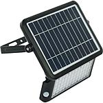 Solar LED floodlight LEX SF, with motion detector