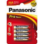 Alkali batteries, Panasonic PRO Power