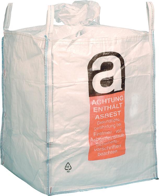 ws big bag uni b asbest beschichtet 4 hebeschlaufen swl 1000kg. Black Bedroom Furniture Sets. Home Design Ideas