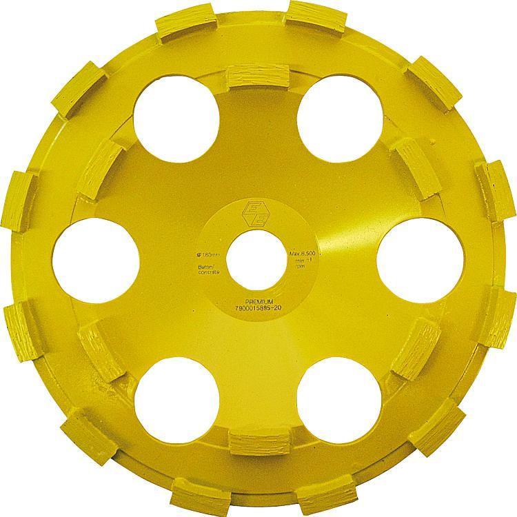 BOSCH Ø 125 mm Schleifscheibe für Geradschleifer 20 mm