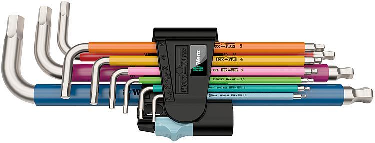 Wiha Inbussschlüsselsatz 9-teilig farblich 1,5-10,0mm