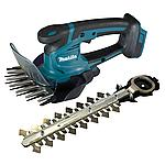 DUM604ZX cordless grass shears, 18 V, rechargeable battery not included