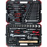 "Socket wrench set 1/4"" + 1/2"", 100 pieces"