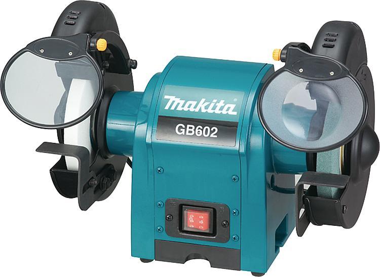 Awe Inspiring Makita Double Bench Grinder Gb602 250W 9 2Kg Inzonedesignstudio Interior Chair Design Inzonedesignstudiocom