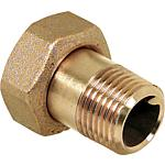 Brass screw joint - coupling