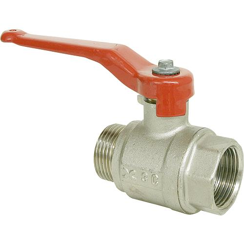 Ball valve, IT x ET with lever handle Standard 1