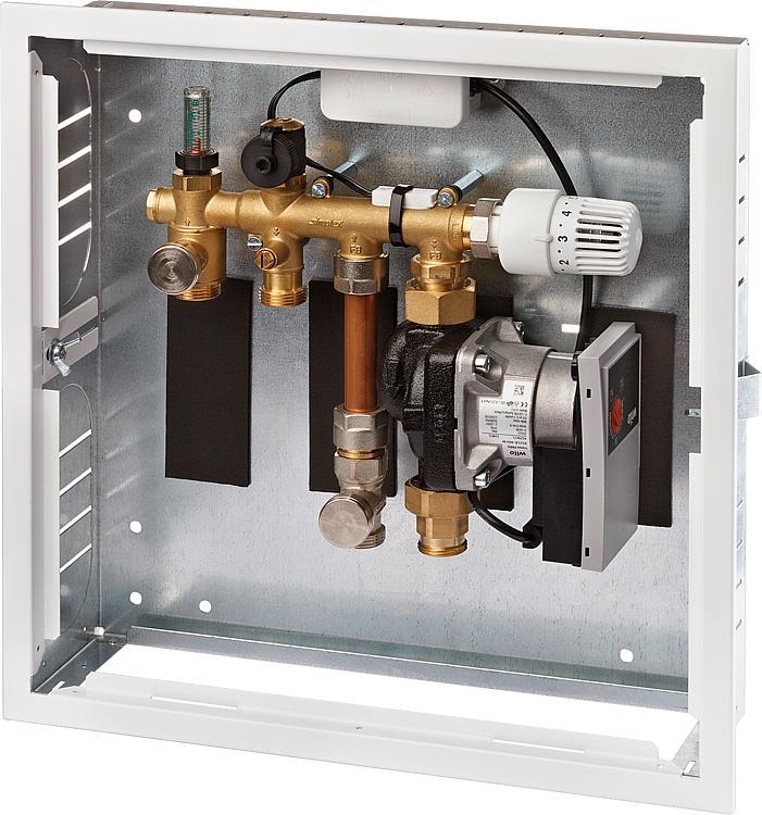 Simplex Einzelraumregelung RTL Ventil Thermostat Kombibox Duo Fußbodenheizung