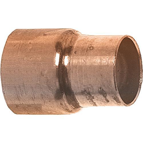 10 Stück Kupfer Lötfitting Bogen 90° 15 mm 1 Muffe