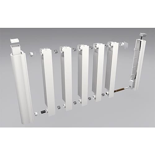 ws aluminium heizk rper elektrisch esimun gd 5815 1500 watt ral 9010. Black Bedroom Furniture Sets. Home Design Ideas