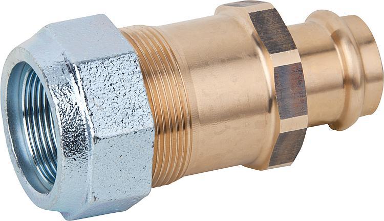 Sehr WS | Kupfer-Pressfitting Übergangsstück für Stahlrohr JO65