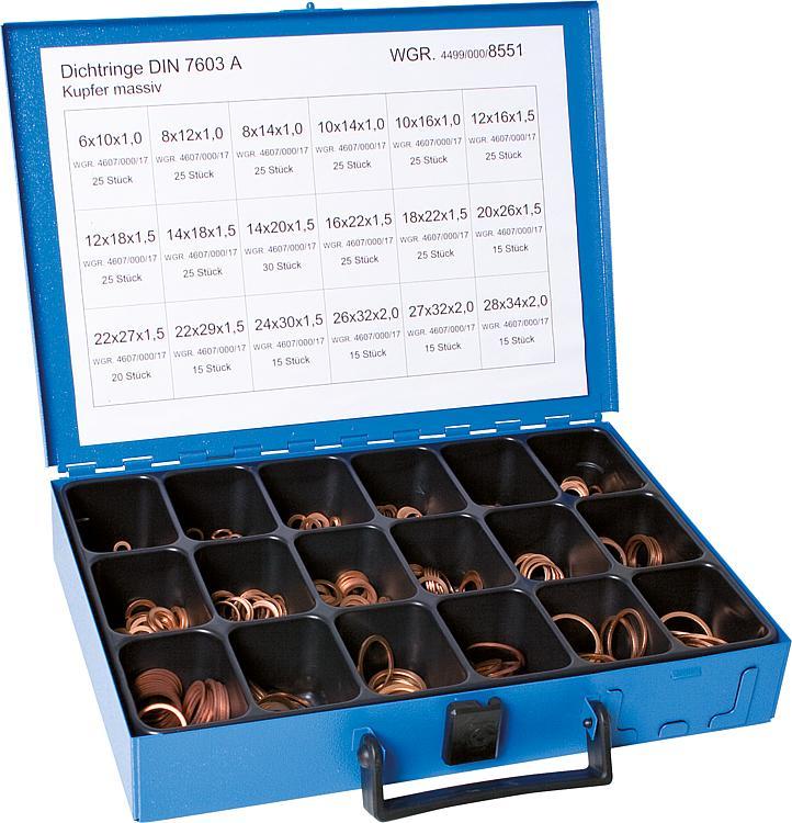 Dichtring Kupfer 12x16x1,5 mm 50 Stück