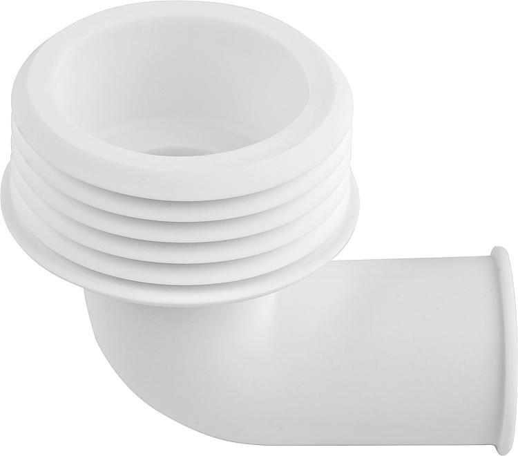 Gummi-Spülrohrverbinder hell für Druckspülrohr D=28//32mm ab
