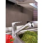 Top II series kitchen fittings