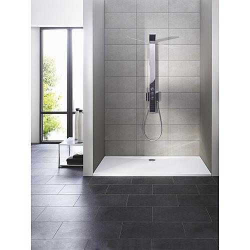 Ultraflat shower tray, rectangular Anwendung 1