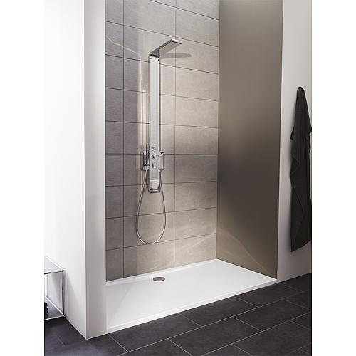 Ultraflat shower tray, rectangular Anwendung 2