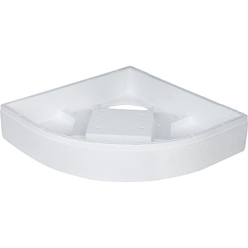 Suitable bath support for shower tray Exton, quarter circle Standard 1