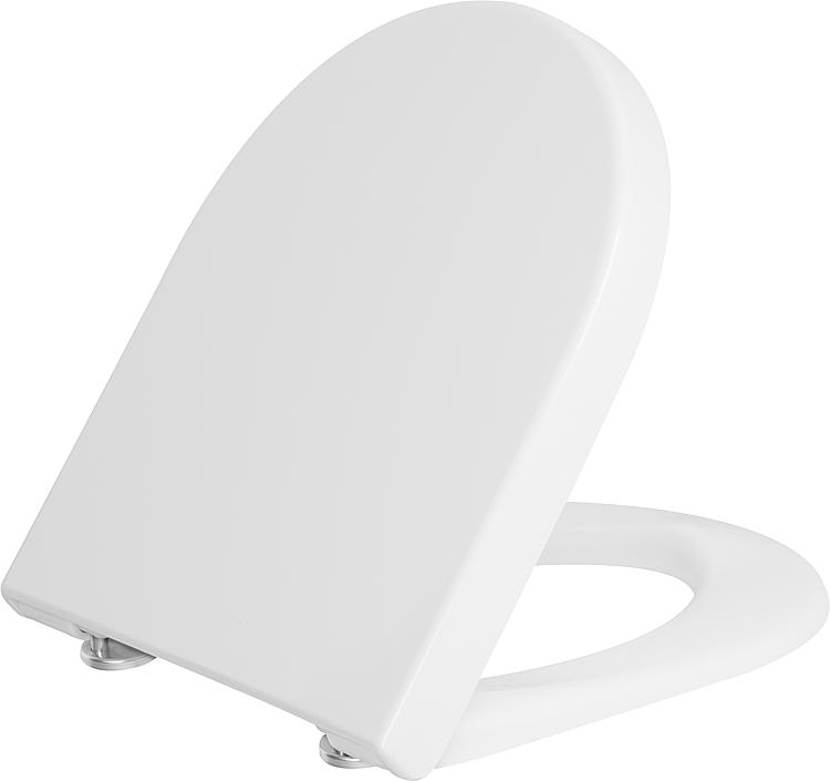Enjoyable Toilet Seat Duravit Starck 3 Softclose White With Stainless Machost Co Dining Chair Design Ideas Machostcouk