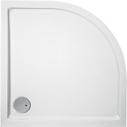Shower tray Evren, quarter circle Standard 1