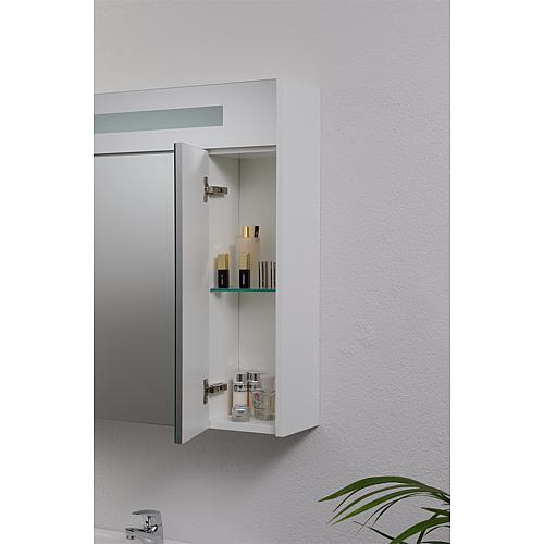 Mirror cabinet with lighting, width 850 mm Anwendung 10