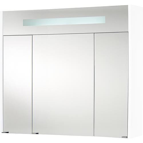 Mirror cabinet with lighting, width 850 mm Standard 1