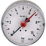 Bourdon tube pressure gauge, solar