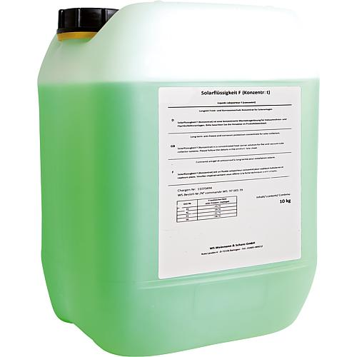 Solar fluid concentrate, model F Standard 1