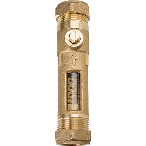 Berühmt WS | Durchflussmesser Klemmverschraubung 22mm Durchflussmenge 2-12 TA48