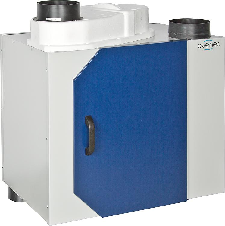 Relativ WS - Zentrales Lüftungsgerät mit WRG Typ HRV (bis 350 m³/h) UL13