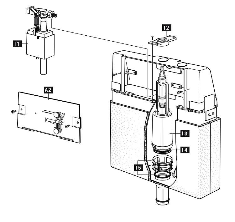 Valve Seat Schwab For Bell Siphonfdel 80000185 1820400
