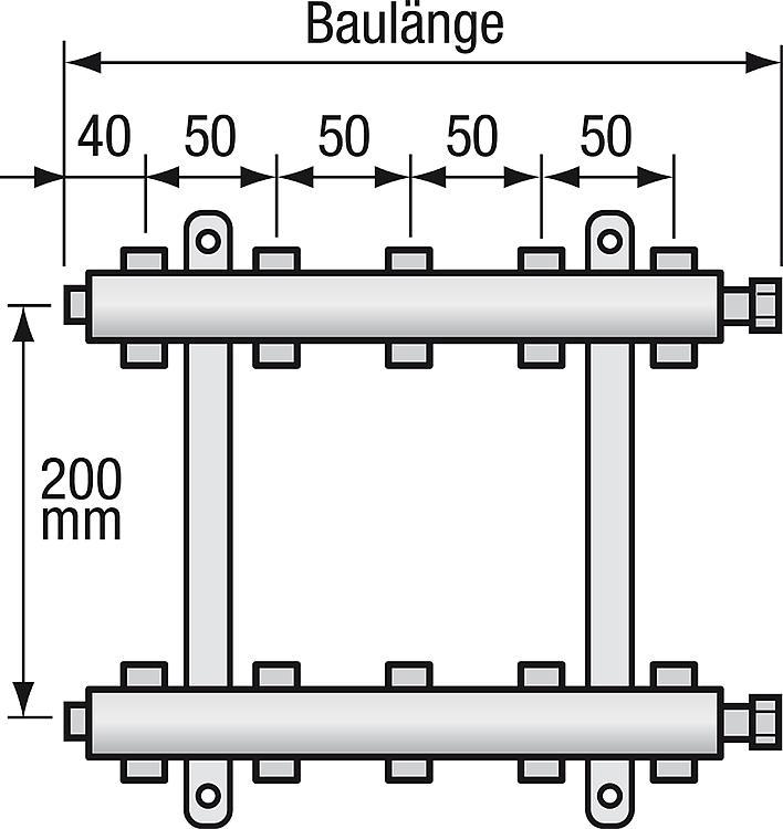 Ws Edelstahl Heizkreisverteiler Strawa E Class 53